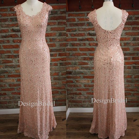 Pink White Polka Dots Sequin Dress Lace by DesignBridal on Etsy