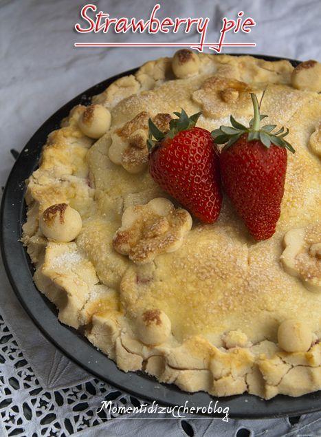 Strawberry pie (gluten free)
