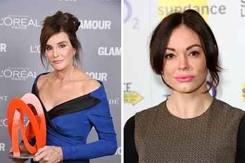 "A fair point: ""Being trans doesn't make one immune from criticism."" (Rose McGowan Defends Comments Criticizing Caitlyn Jenner's Understanding of Womanhood)"