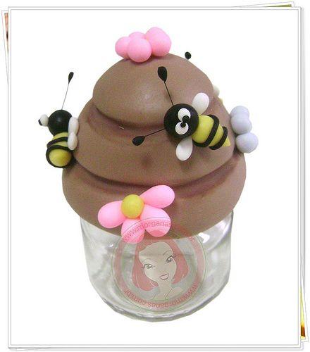 Potinho mini abelhinhas