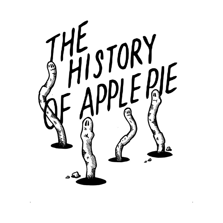History of Apple Pie t-shirt No.2    Enquiries: Contact me on lewis75uk@yahoo.co.uk