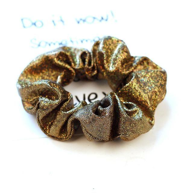 Kids Girl Sequin Hair Band Rope Ring Scrunchie Tie Ponytail Holder Elastic New