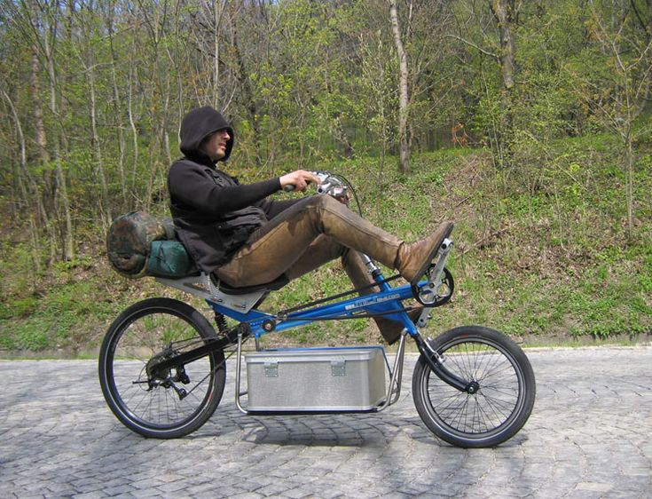 high recumbent with clever cargo