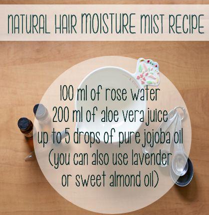 DIY: Natural Hair Moisture Mist