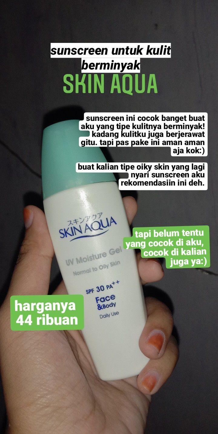Produk Skin Aqua Untuk Kulit Berminyak Dan Berjerawat