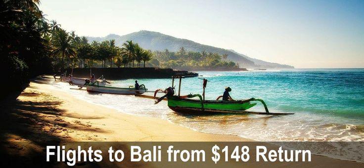 Flights to Bali from $148 Return | I Know The Pilot