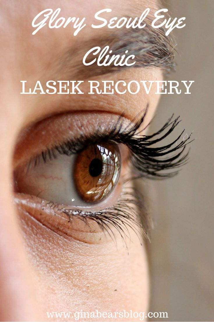 LASEK Recovery http://ginabearsblog.com/2017/10/lasek-recovery/