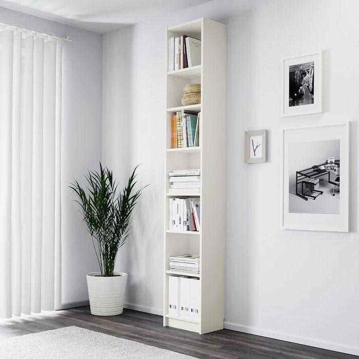 BILLY white, Bookcase, 40x28x237 cm   IKEA in 2020   White ...