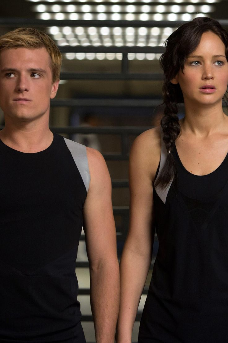Katniss and Peeta,  This trening outfites are betters then those of the first hunger games.