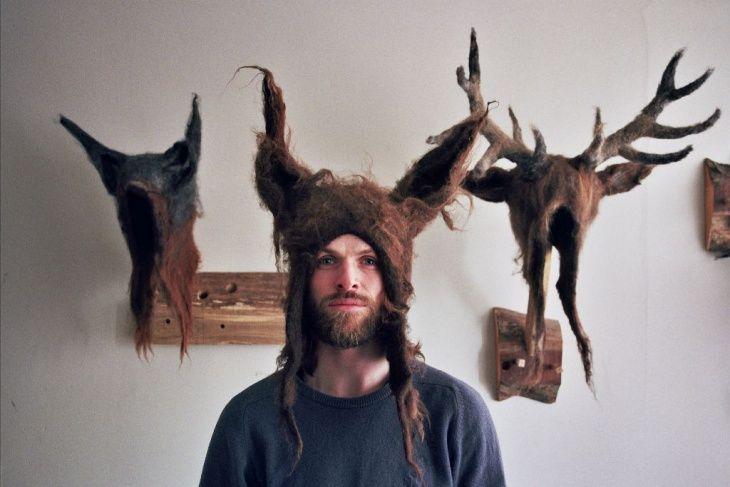 войлок, валяние, головные уборы, креатив, мебель, викинги