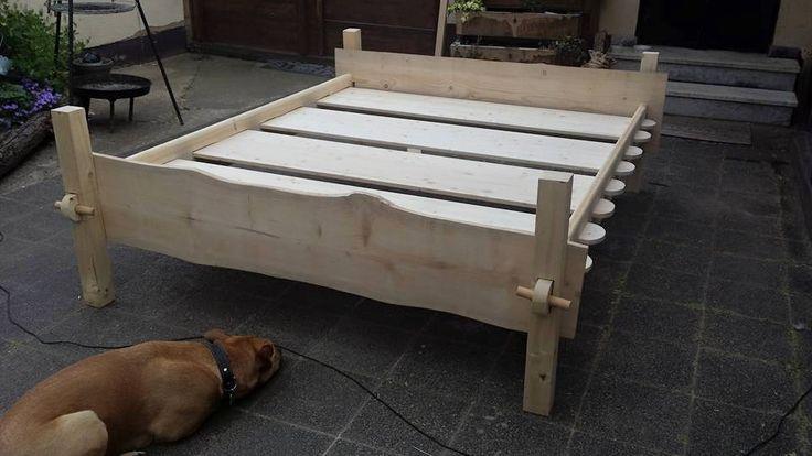 our bed   unser Lagerbett