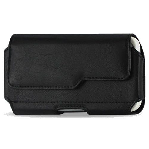 """Samsung Galaxy Note 3 Note III N9000 (All Carriers) Premium Leather Pouch Carrying Case With Belt Clip / Belt Loops Holster (Fits Samsung Galaxy Note 3 with a thin cover on) + Black Stylus Pen (640265353840) Specifically designed for Samsung Galaxy Note 3 Note III. The pouch fits the naked phone, however, for best fit, a thin plastic or silicone case should be installed on your phone Inner Dimensions: 6.1"""" x 3.3"""" x 0.75"""" Package Contents: 1 pouch + 1 Black Stylus Pen Premium Quality leather…"""