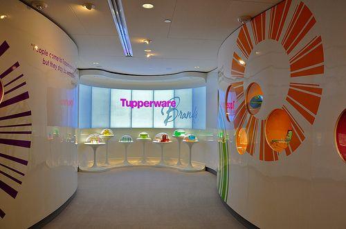 Mod Tupperware Display