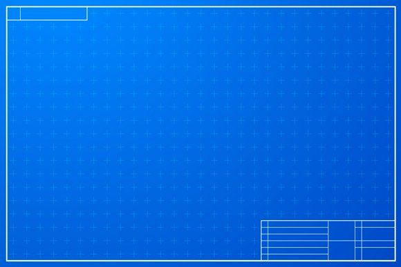 Layout Template In Blueprint Style Layout Template Blueprints Print Layout