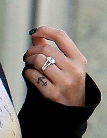 Brenda Song Engagement Ring