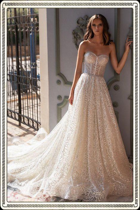 Кружевные свадебные платья - фото, цены в салонах Москвы ...