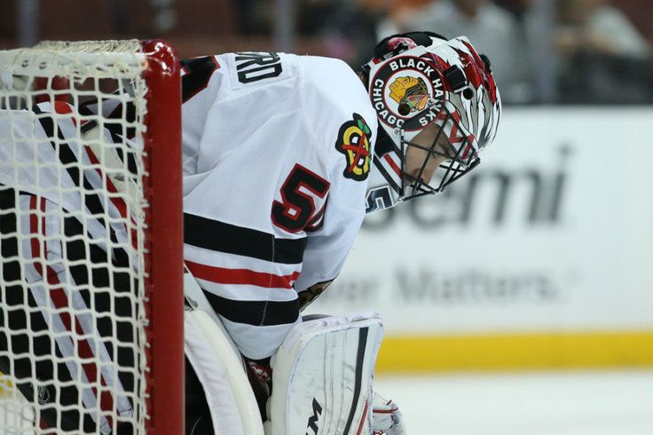 Corey Crawford expected to return Friday for Chicago = The Chicago Blackhawks have been successfully floating along without starting goaltender Corey Crawford for the last few weeks, as he's sat out recovering from an appendectomy. On Friday he's.....
