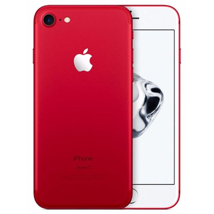 Ya está a la venta, iPhone 7 Rojo #iphone7deals,