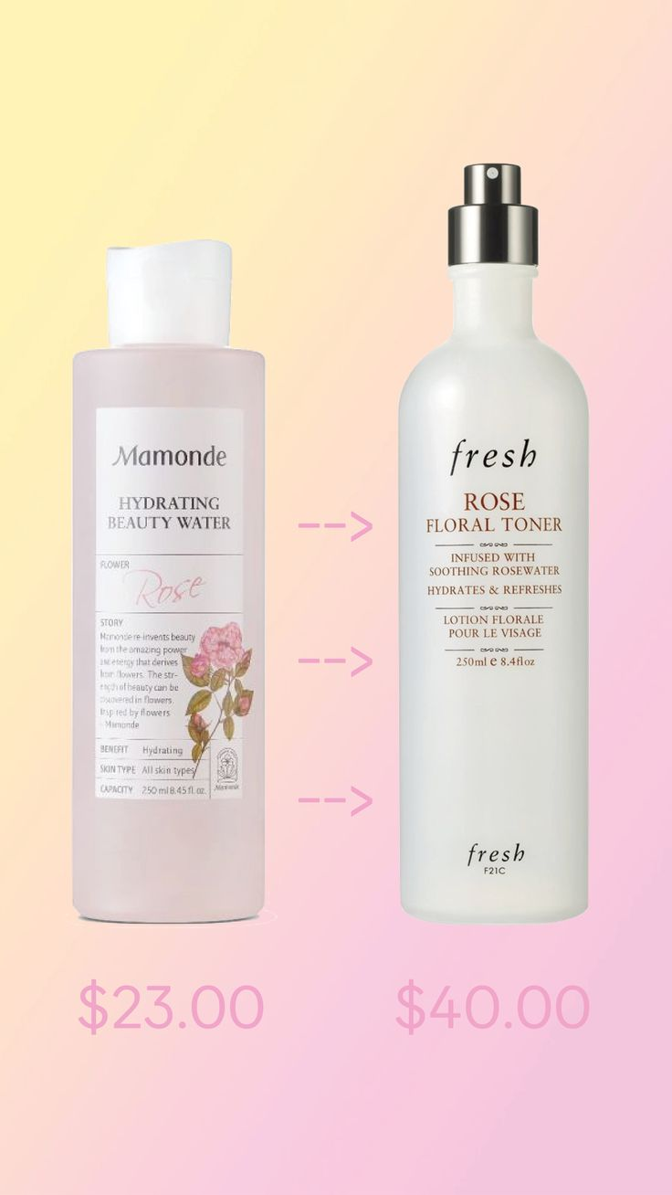 A K-Beauty Dupe For Rose Water Toner