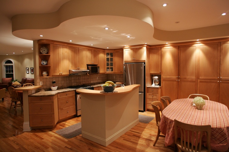 Ottawa Custom Kitchen Bulkhead Detail Interior Design