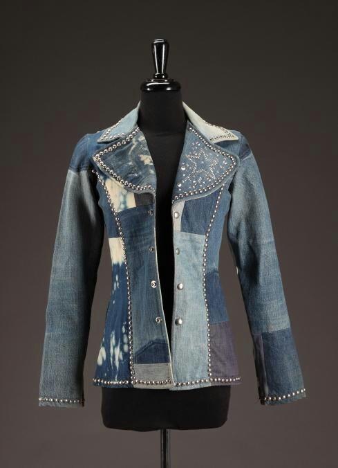 Stunning patchwork denim jacket