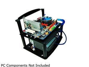 DIYPC Alpha-GT3 Black Acrylic and Aluminum ATX Bench Case Bench Computer Case for ATX/Micro ATX motherboard %u2013 PC components not included