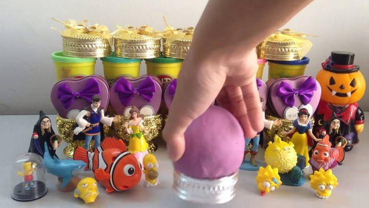 Play doh ball surprise robot   egg surprise toy kid   toy kid   batman  ...