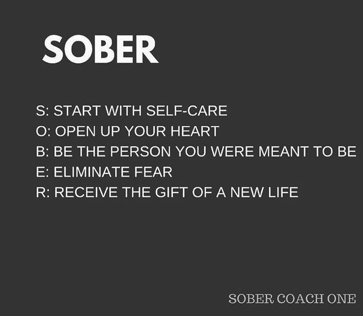 #SOBER #Recovery