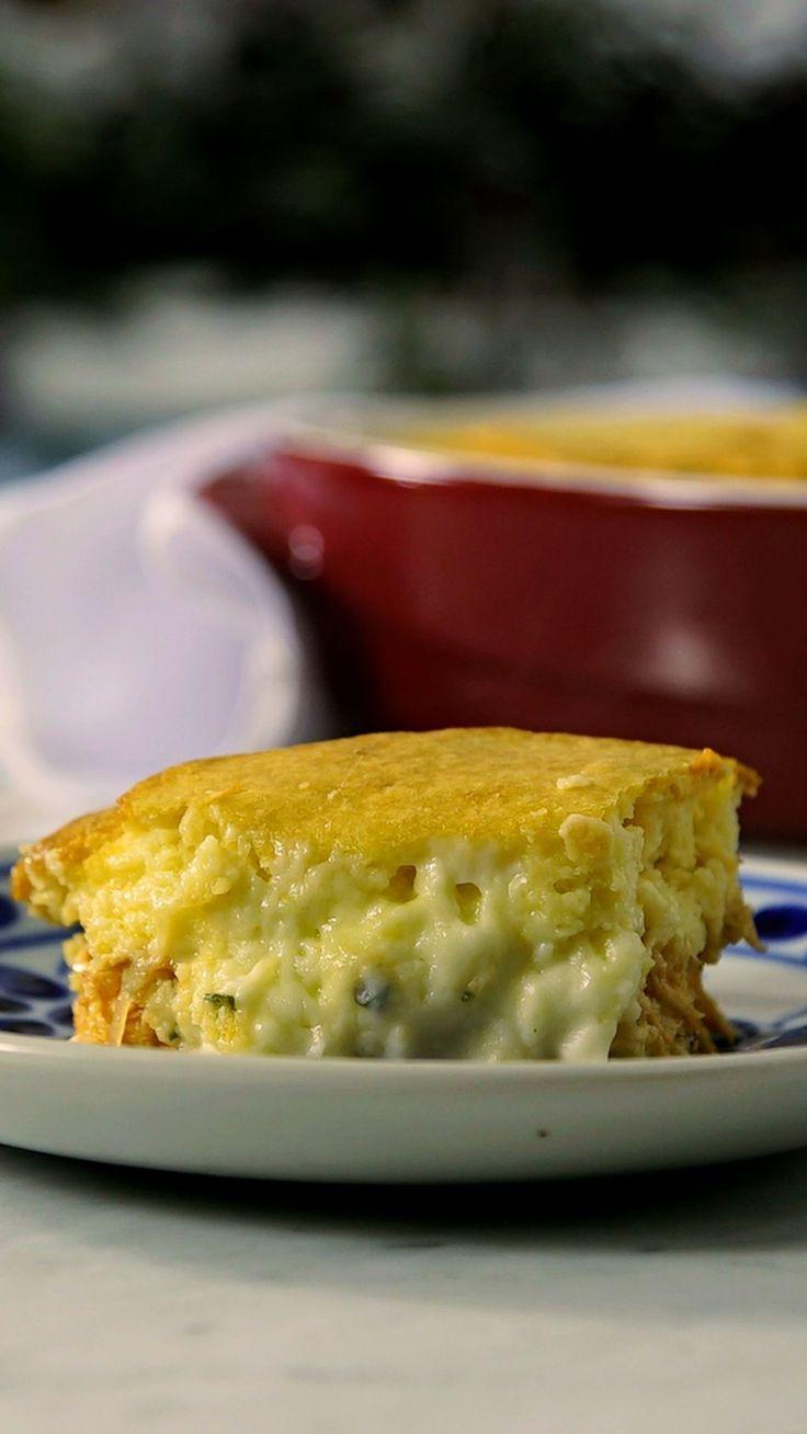 Torta Rápida de Frango ~ Receita   Tastemade