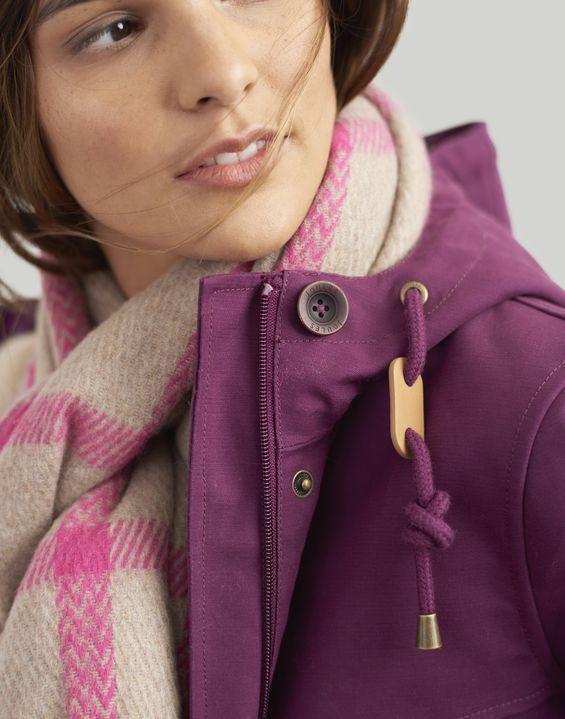 Coast Cosy Sherpa Fleece Lined Waterproof Coat Fashion Trends Winter Raincoats For Women Women