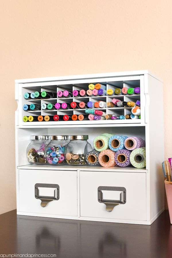 Princesses Craft Rooms And Room Organization On Pinterest
