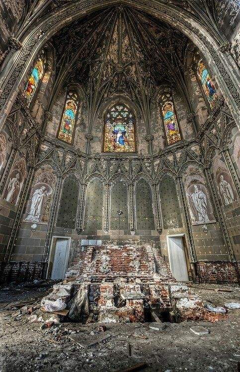 Abandoned church-Urban Exploration