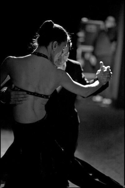 ☾ Midnight Dreams ☽ dreamy & dramatic black and white photography - Dance the Tango