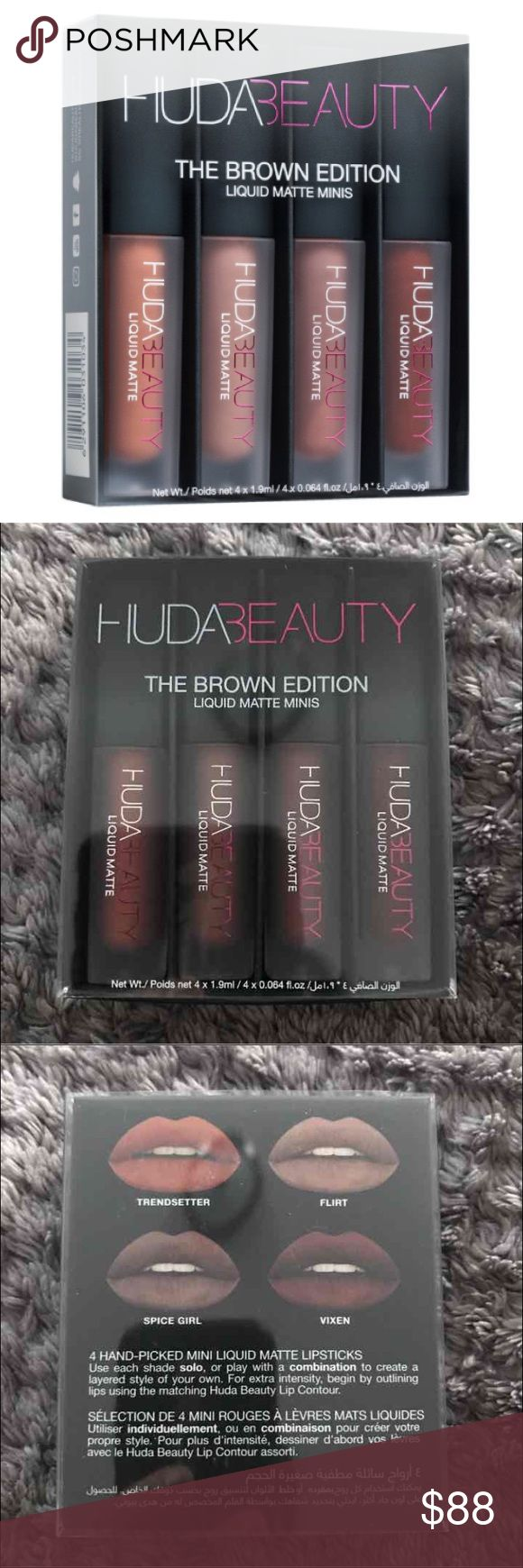 25 Best Ideas About Huda Beauty Lipstick Swatches On -4815