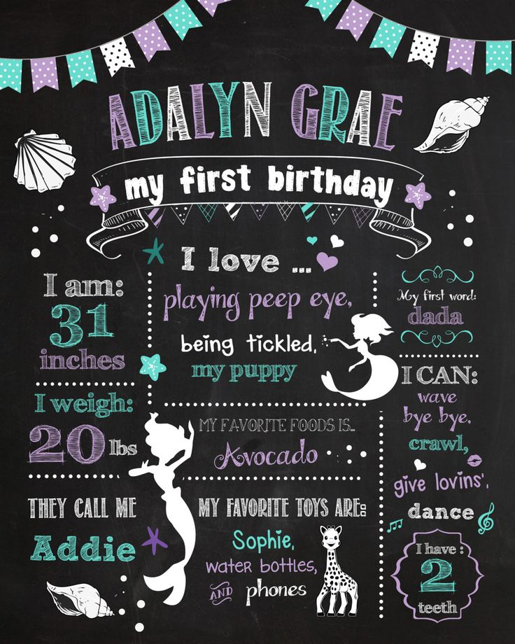 Mermaid Chalkboard Poster Mermaid Chalkboard Sign First Birthday Chalkboard Poster Little Mermaid 1st Birthday Chalkboard Poster by BlackCatsMedia on Etsy https://www.etsy.com/listing/236746940/mermaid-chalkboard-poster-mermaid