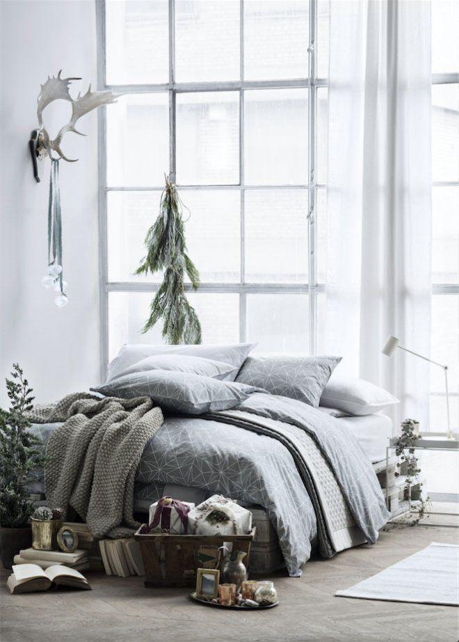 H&M Home déco Noël scandinave