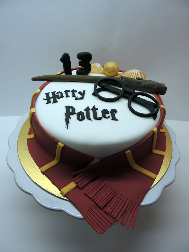 Harry Potter's cake www.facebook.com/aprilscake