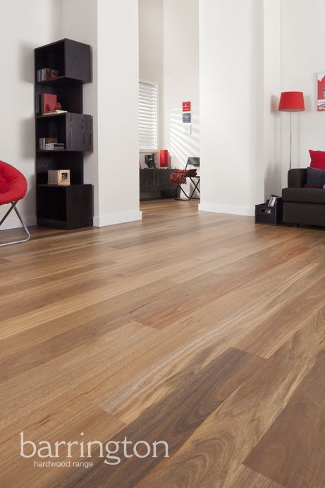 Barrington Hardwoods: Spotted Gum 135mm wide 8% super matt coating. www.arrowsun.com.au