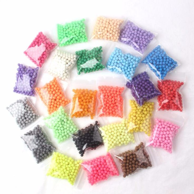 200pcs/bag Water Sticky Beads 24 Color Sticky Perler Beads Pegboard Set Fuse Beads Jigsaw Water beadbond Bond Toy Puzzle