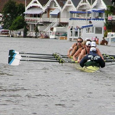 What happens traditionally after a rowing regatta win? The coxswain is thrown into the water.