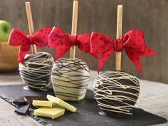 Receta de Manzanas Cubiertas con Chocolate