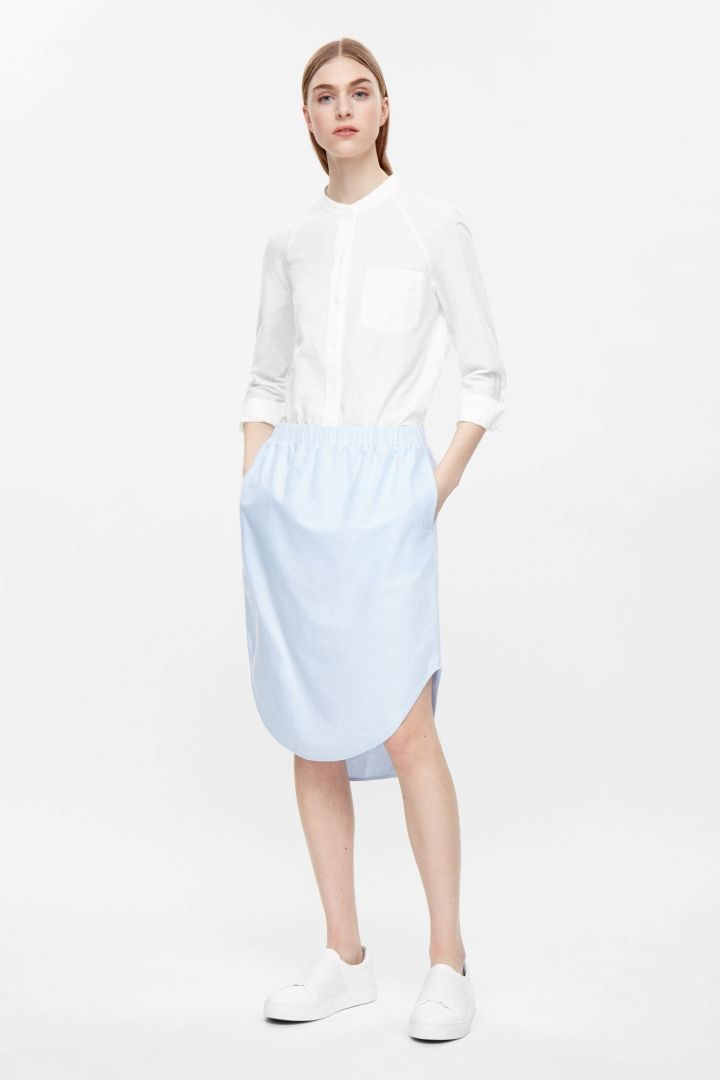 COS | Skirt with shirt hem