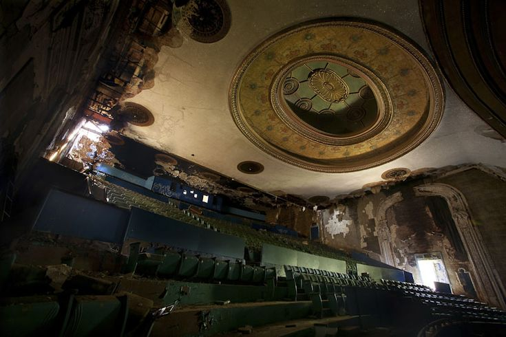 Eastown theater abandoned places