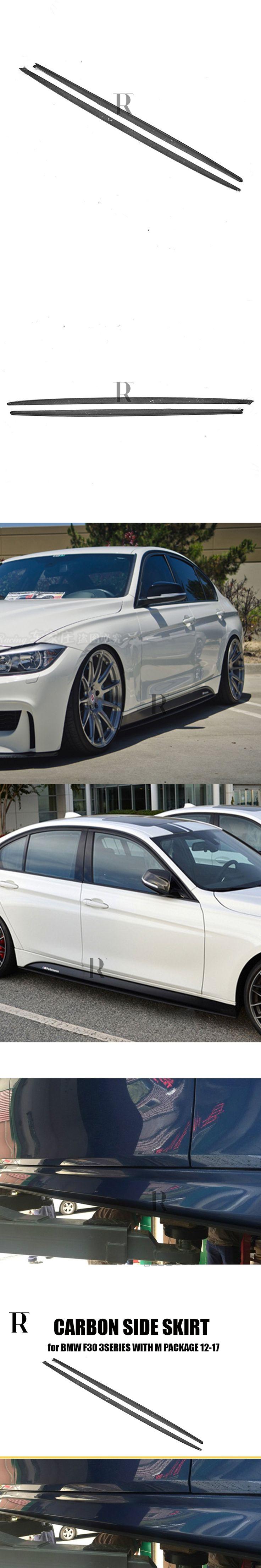 F30 Carbon Fiber Side Bumper Skirt for BMW F30 320i 328i 330i 335i 320d 325d 328d 330d 335d M-tech M-Sport Bumper 2012 - 2016