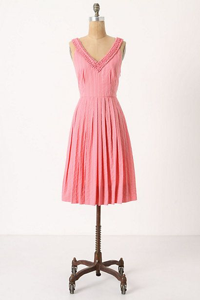 $158 #anthropologie: Summer Dresses, Spring Dresses, Polka Dots, Pink Dresses, Pretty In Pink, Bridesmaid Dresses, Easter Dresses, Ball Dresses, Melon Ball