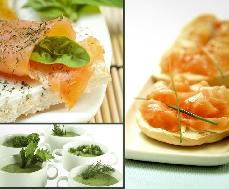 En los alimentos, espolvoreadas sobre los platos y por qué no en sopas y cremas Las hierbas se ven bien siempre!