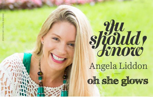 The YumUniverse Interview with Angela Liddon, author of The Oh She Glows Cookbook.