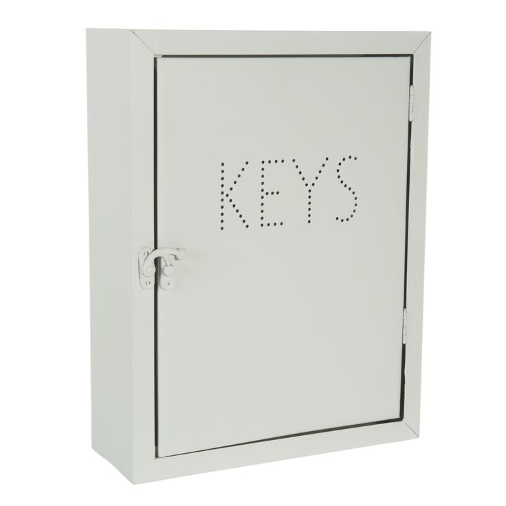 Boîte à clés en métal H 30 cm GRAPHIC KEYS