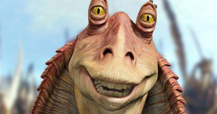 Jar Jar Binks Really Wants to Be in the Han Solo Movie -- Jar Jar Binks himself wants new director Ron Howard to put him in the Han Solo Star Wars spin-off. -- http://movieweb.com/han-solo-jar-jar-binks-role-parody/