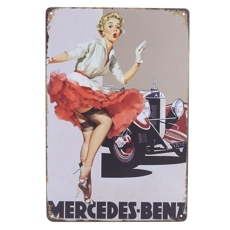 Retro Metal Tin Sign Poster Plaque Bar Pub Vintage Art Wall Sticker Painted Posters Plaques For Home Club Decor